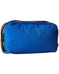 LeSportsac | Blue Rectangular Cosmetic | Lyst
