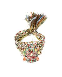 Alyssa Norton | Multicolor Triple Braided Rhinestone Bracelet | Lyst