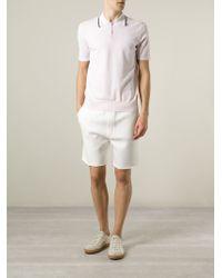 KENZO | Pink 'Eye' Polo Shirt for Men | Lyst