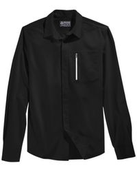 American Rag | Black Hardy Solid Long-sleeve Shirt for Men | Lyst