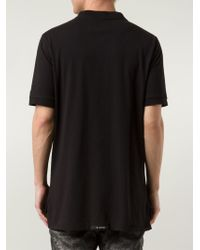 Zanerobe - Black Zip-Detail T-Shirt for Men - Lyst