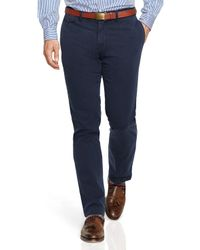 Ralph Lauren | Blue Polo Straight-fit Bedford Chino Pants for Men | Lyst