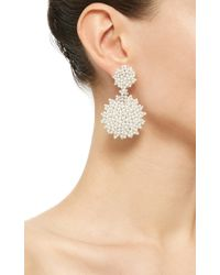 Paul Morelli | Metallic Lagrange Pearl Double Dangle Earrings | Lyst