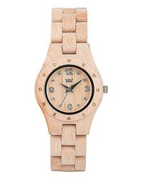 WeWood - Natural Moon Deneb Chocolate Watch - Lyst