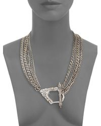 Stephen Webster - Metallic Jewels Verne Multi-Chain Sterling Silver Toggle Necklace - Lyst