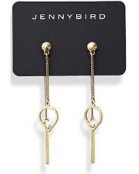 Jenny Bird - Metallic Anya Earrings - Lyst