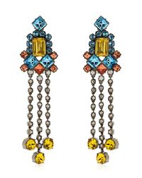"Mawi | Multicolor ""barbarella"" Collection Earrings 