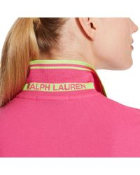 Ralph Lauren Golf | Pink Tailored Golf-fit Polo | Lyst
