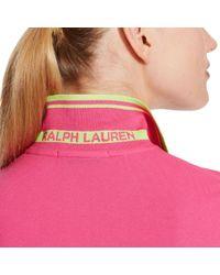 Ralph Lauren Golf - Pink Tailored Golf-fit Polo - Lyst