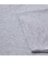 Cruyff Classics - Gray Cruyff Rensen Grey Marl Crew Neck T-shirt for Men - Lyst