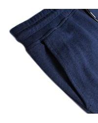 Farah - Blue Bovey Jo Yale Marl Jersey Tracksuit Bottoms for Men - Lyst