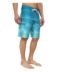 Billabong - Blue All Day Plaid Boardshort for Men - Lyst
