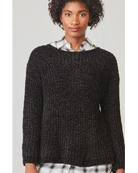 BB Dakota - Black Cella Velour Sweater - Lyst