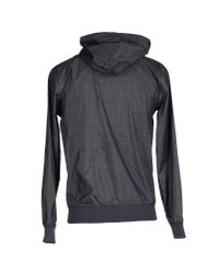 Carhartt | Gray Zip-Up Hooded Casual Jacket  for Men | Lyst
