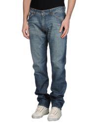 Notify - Blue Denim Trousers for Men - Lyst