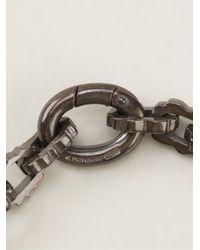 Bottega Veneta | Metallic Cogwheel Charm Bracelet | Lyst
