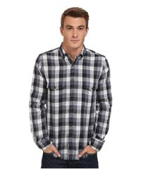 French Connection | Black Wilton County Pixel Double for Men | Lyst