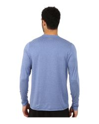 Under Armour - Blue Ua Coldgear® Infrared Crew for Men - Lyst