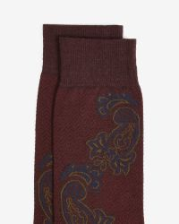Ted Baker - Red Sock for Men - Lyst