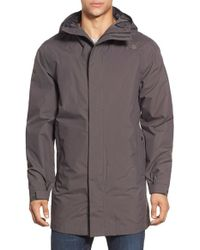 The North Face | Gray 'el Misti' Waterproof Parka for Men | Lyst