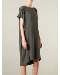 Societe Anonyme - Green Oversized Loose Fit Dress - Lyst