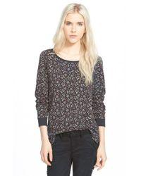 Hinge | Gray Print Pullover Sweatshirt | Lyst