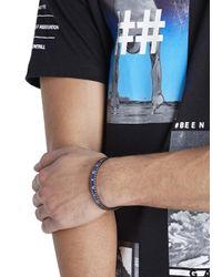 Speedometer Official   Blue Marine Steel Bracelet for Men   Lyst