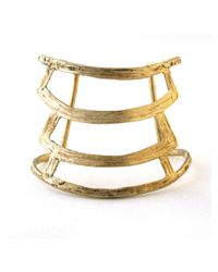 Odette New York | Metallic Tier Cuff | Lyst