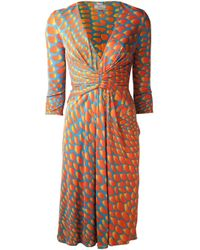 Issa | Multicolor Twisted Front Dress | Lyst