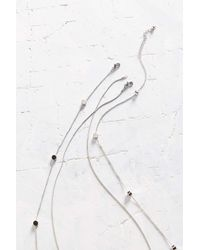 Urban Outfitters - Metallic Dance All Night Necklace Set - Lyst