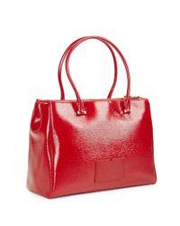 kate spade new york | Red Cedar Street Patent Reena Bag | Lyst