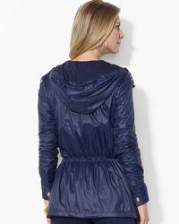 Ralph Lauren   Blue Lauren Petites Lightweight Nylon Jacket   Lyst