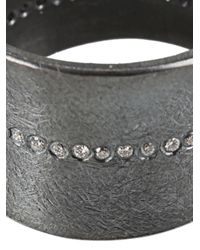 Todd Reed - Metallic Center Line Ring - Lyst
