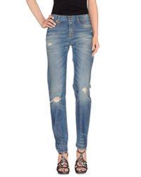 R13 | Blue Denim Trousers | Lyst