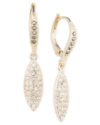 Judith Jack | Metallic Marcasite And Crystal Pavé Drop Earrings | Lyst