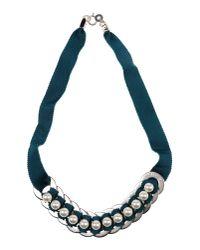 Ligia Dias - Blue Necklace - Lyst