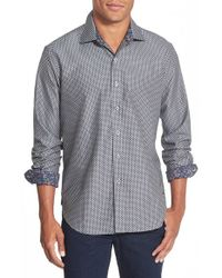 Robert Graham | Gray 'patterson' Classic Fit Sport Shirt for Men | Lyst
