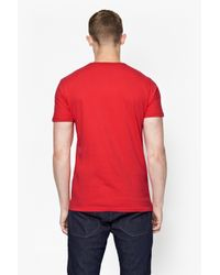French Connection | Red Fcuk Moi Cotton T-shirt for Men | Lyst