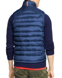 Ralph Lauren - Blue Polo Rlx Explorer Down Vest for Men - Lyst