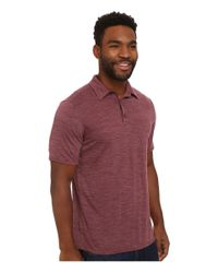 Patagonia | Purple Merino Daily Polo for Men | Lyst
