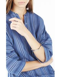BCBGMAXAZRIA - Natural Bamboo Cuff Bracelet - Lyst