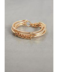 BCBGeneration Metallic Blessed Toggle Bracelet