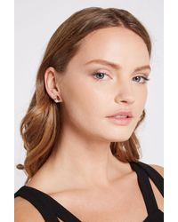 BCBGeneration - Metallic Face Post Earring - Lyst