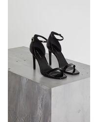 BCBGeneration - Black Irina Ankle Strap Sandal - Lyst