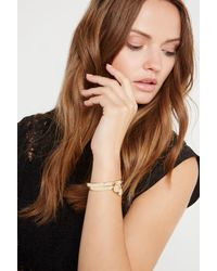 BCBGeneration - Metallic Say My Name Bracelet - Lyst