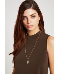 BCBGeneration | Metallic Blessed Long Necklace | Lyst
