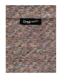 Crea Concept - Brown Knitted Scarf - Lyst