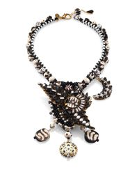Erickson Beamon - Black Shadow Proclamation Statement Necklace - Lyst