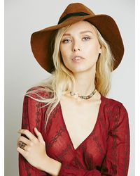 Free People - Red Womens Sandcastle In The Sky Maxi - Lyst