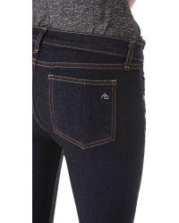 Rag & Bone - Blue Capri Pants - Lyst